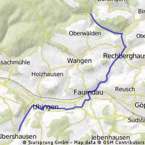 Albershausen nach Herrenbach