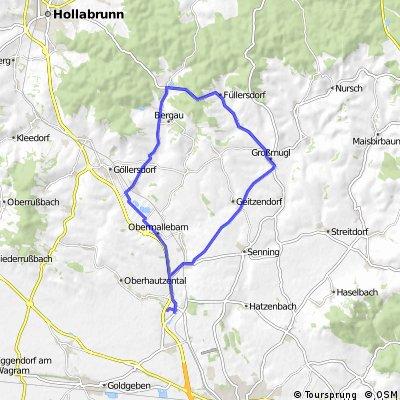 Großmugl-Porrau Runde 32km