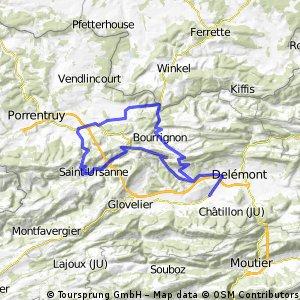 Les Rangiers-Col de la Croix-Bourrignon
