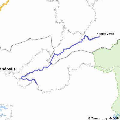 Joanópolis(Cachoeira dos Pretos)-SP à Monte Verde-MG