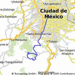 Ruta en Mexico