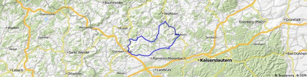 klasse Strecke durch die Westpfalz mit tollen Ausblicken