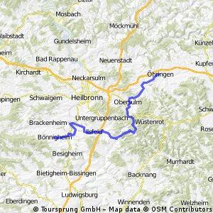Bönnigheim - Öhringen