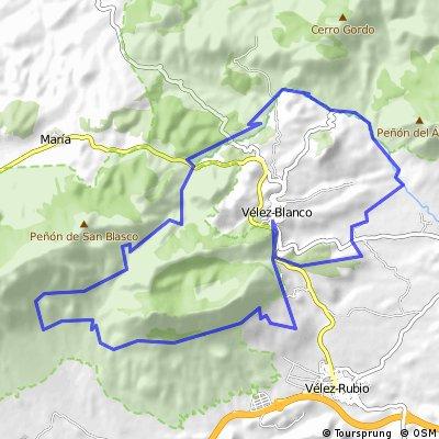 Vélez Blanco-Maimon-El Peral-Pinar del Rey