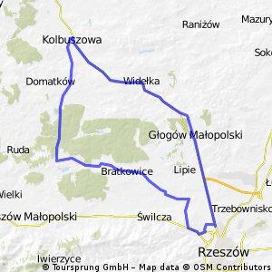 Głogów Młp., Kolbuszowa i Czarna Sędziszowska