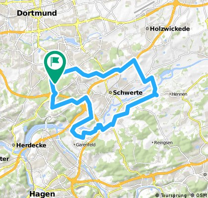 Wellinghofer RTF 41km-Strecke