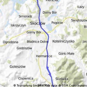 nadwiślański highway do Ustronia 2