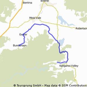 D02 - Bundanoon to Kangaroo Valley