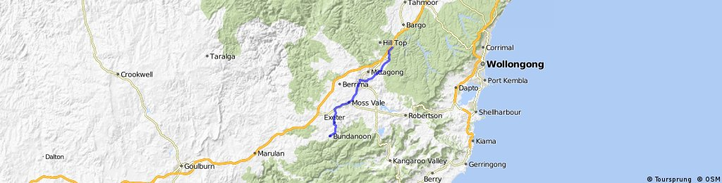 D01 - Bowral to Bundanoon