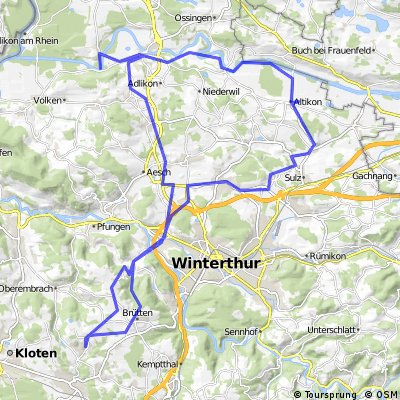 Nürensdorf - Altikon - Thür