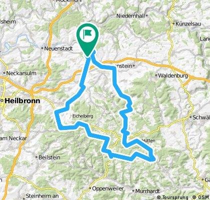 Hubbeltour Ohrnberg-Mainhardt-Löwenstein