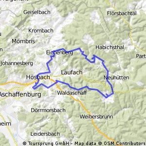 1350hm MTB Rothenbuchrunde über Rottenberg
