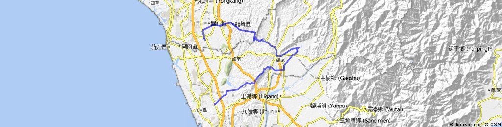 Tainan 182 Meinong KHH
