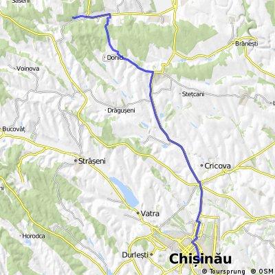 Traseu Chisinau-Peresecina-Samanauca-Mana-Vatici