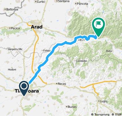 Traseu TM-Conop si retur 29&30april2012