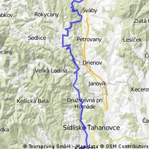 """Tour de Prešov aneb """"Na 1.mája sa nepracuje, na 1.mája sa bikuje!"""""""