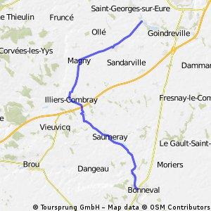 Saint Brice en Coglès - Bonneval 21 July 2012