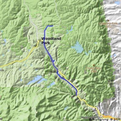 Cascade Training Route