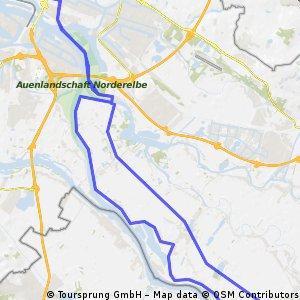 20090415 Hammerbrook bis Zollenspieker