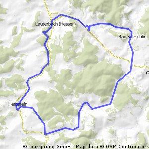 Vogelsberg-Vulkanradweg