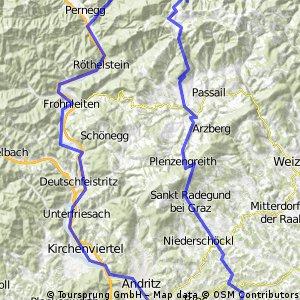 Waltendorf - Teichalm - Gratkorn