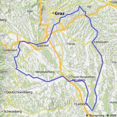 Waltendorf - Kirchbach - St. Veit - Stainz