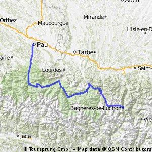 2012 Etape Act 2 (Pau to Bagneres-de-Luchon)