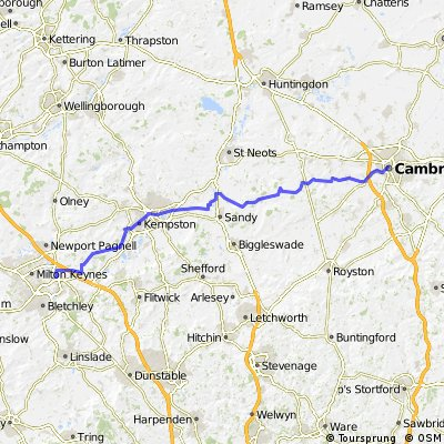 Cambridge - Milton Keynes