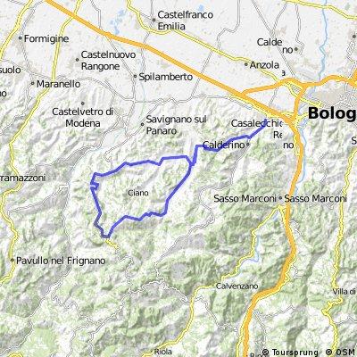Calderino - Montemaggiore - Monteombraro -