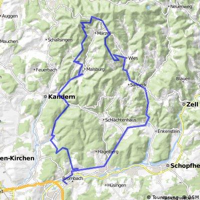 Hauingen - Hexenplatz (unterhalb Blauen) CLONED FROM ROUTE 1555084
