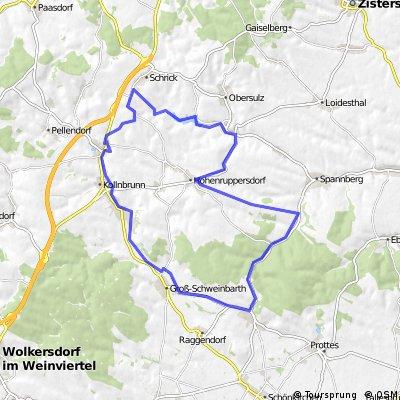 Nexing, Hohenruppersdorf, Spanberg, Matzen, Schweinbarth