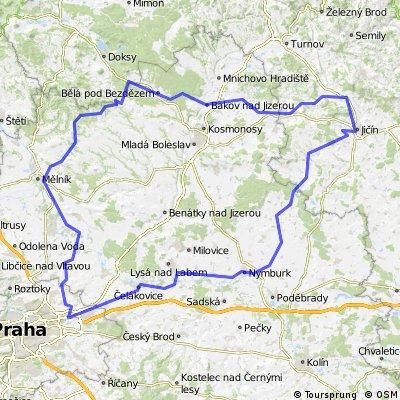 Praha - Bezděz - Jičín - Praha