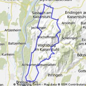 Breisach - Westlicher Kaiserstuhl