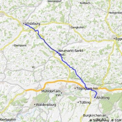 Fußwahlfahrt Vilsbiburg - Altötting