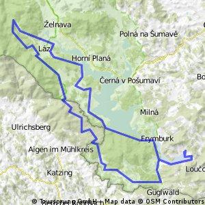 Lipno - schw.kanál - Lipno