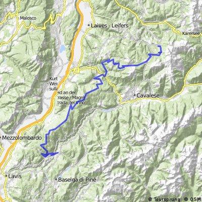 Von Obereggen an den Heiligensee CLONED FROM ROUTE 740003