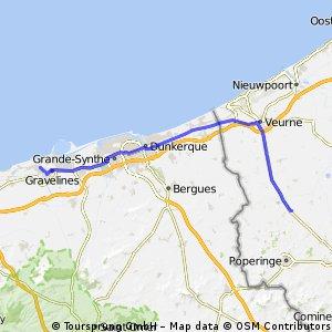 Day 9 Part 1 Vleteren-Dunkirk