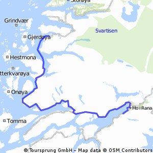 Norge på langs med TS, etappe 12