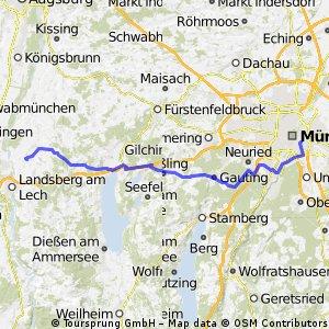 München Arbeitsweg