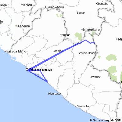 956- Liberia