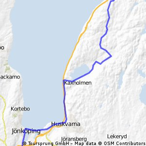 Smaland Etappe 2 Norrahammar - Gränna