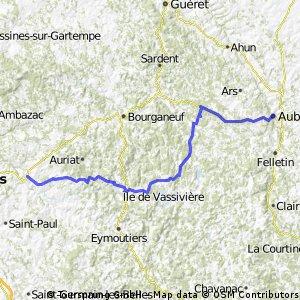2009 Euro Tour -- Ride Day 3 —22 June 2009—87400 Saint-Léonard-de-Noblat to 23200 Aubusson