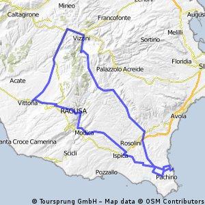 Marzamemi - Giarratana - Comiso - Modica