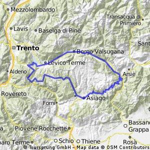 RR-Runde Caldonazzo-Asiago-Enego-Valsugana