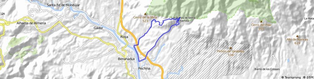 Subida Baños Sierra Alhamilla - Bajada Marraque