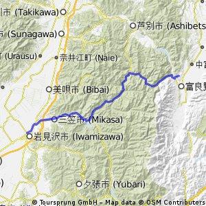 7/7富良野到岩見沢