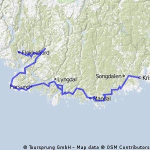 Flekkefjord Kr.sand Nordsjøruten