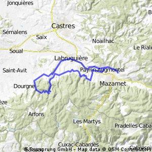 Pas du Sant 60 km(ZW)