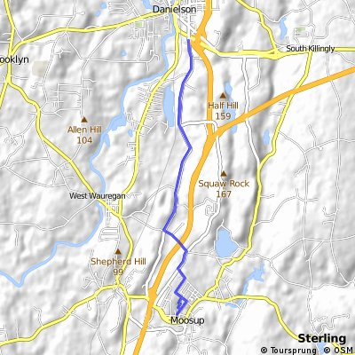 Green Hollow to Rte 6 Route