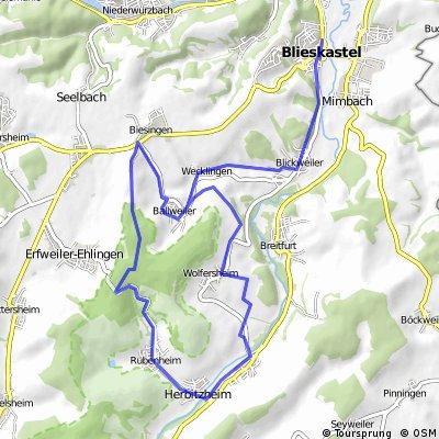 Kleine MTB-Route